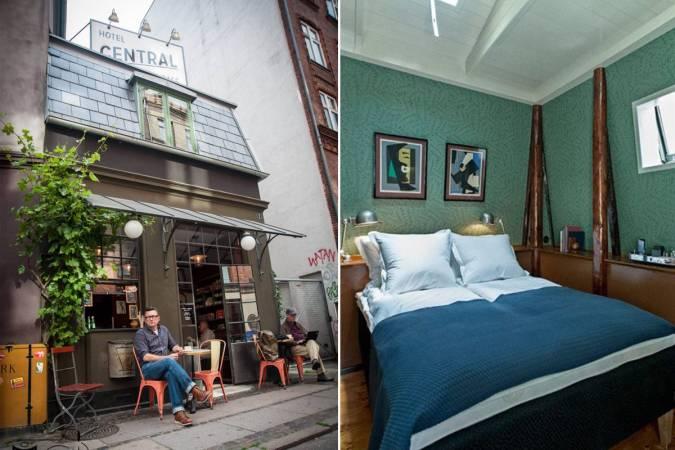 Los tres hoteles más pequeños del mundo