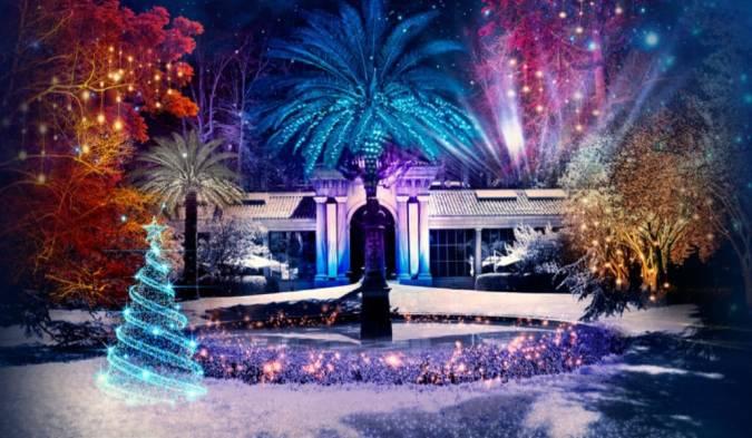 Luces del Jardín Botánico, el plan más navideño