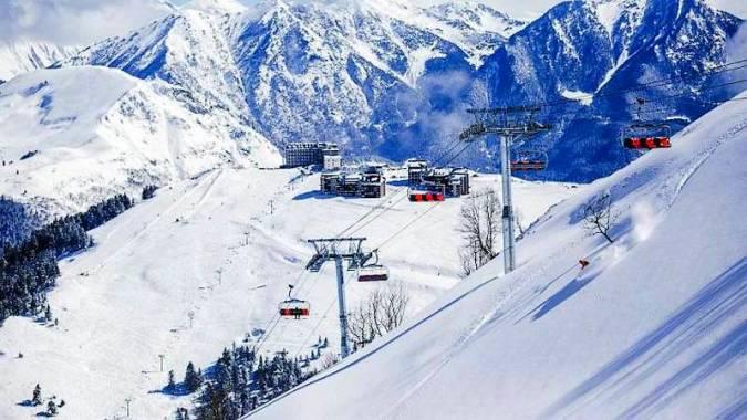 Luchon, destino termal y de esquí en Francia