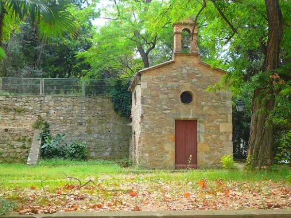 Ermita de Santa Madrona, en Barcelona