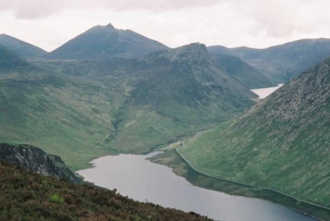 Las montañas de Mourne, en Irlanda