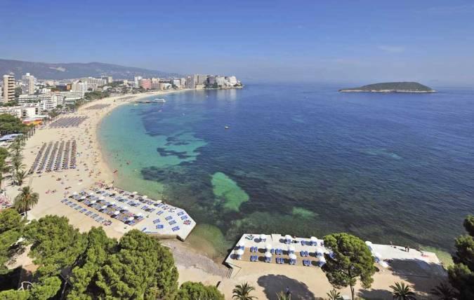 Playa de Magaluf, en Mallorca