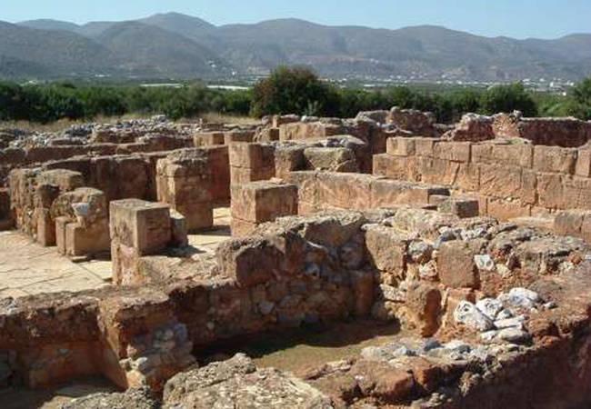 El palacio minoico de Malia