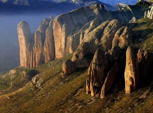 Los Mallos de Riglos, en Huesca