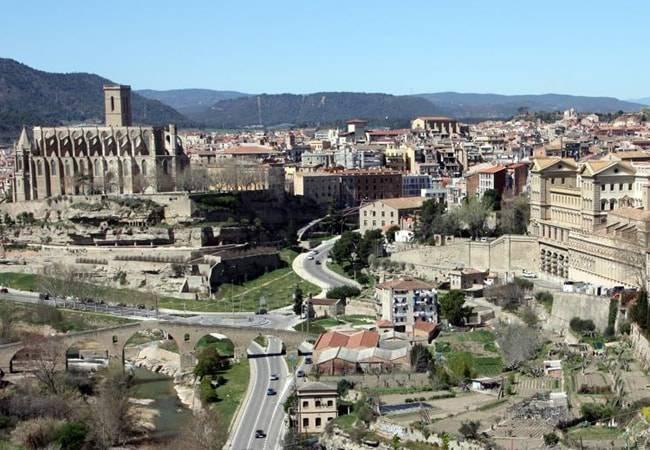 Manresa, ciudad medieval en Barcelona