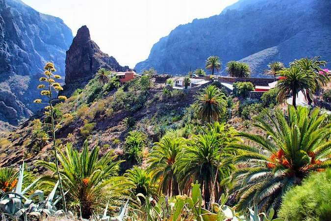 Masca, un pueblo de altura en Tenerife