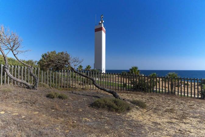 Faro de Matalascañas, en Huelva