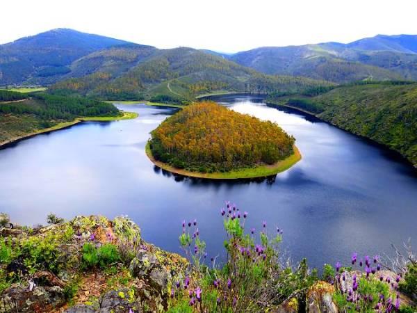 El Meandro Melero, una joya de la naturaleza en Cáceres