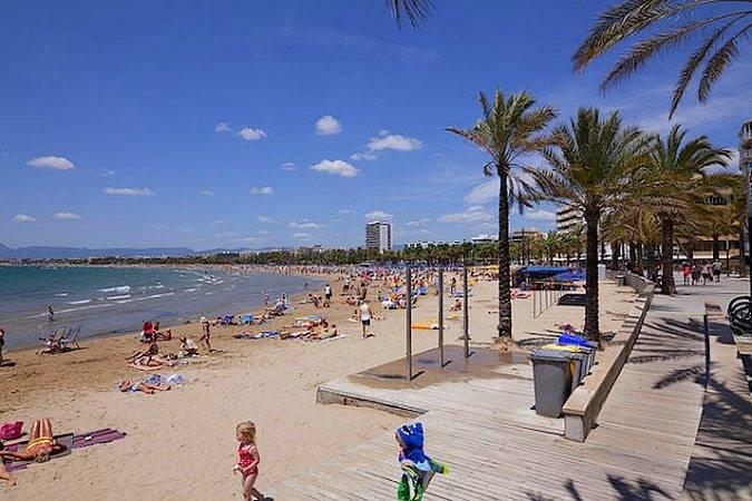La mejor playa de Salou, en Tarragona