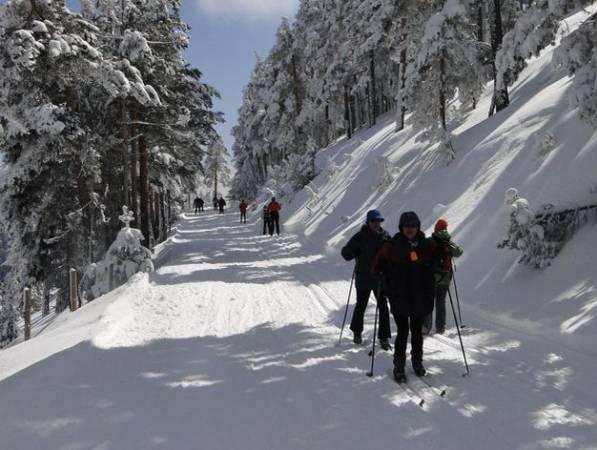 Estación de esquí de Navafría, en Segovia