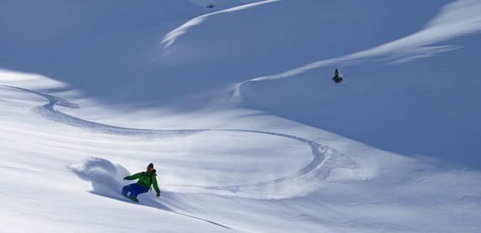 Snowboard en Baqueira Beret, en Lleida