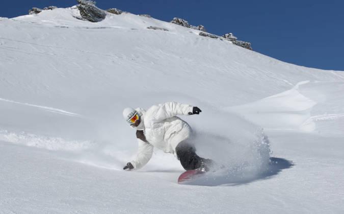 Snowboard en Sierra Nevada, Granada