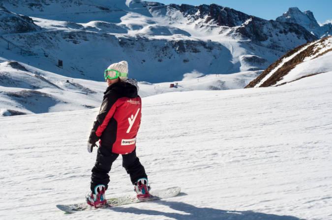 Snowboard en Astún, Huesca