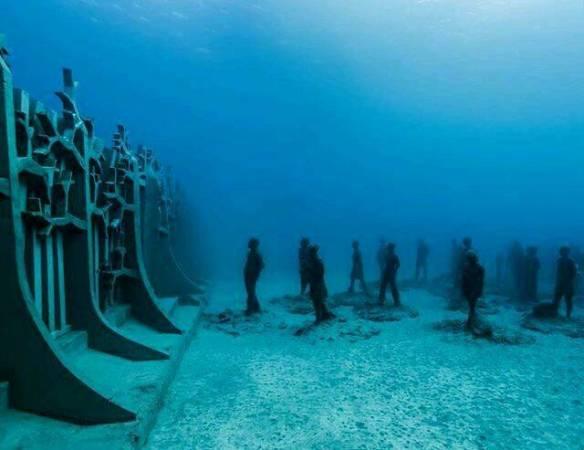 Se inaugura en Lanzarote el primer museo subacuático de Europa