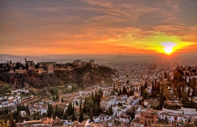 Mejores lugares de España para ver una puesta de sol