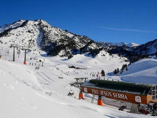 Etación de Esquí de Baqueira Beret, en Lleida