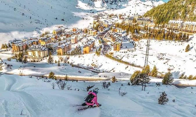 Estación de Esquí de Astún, en Huesca