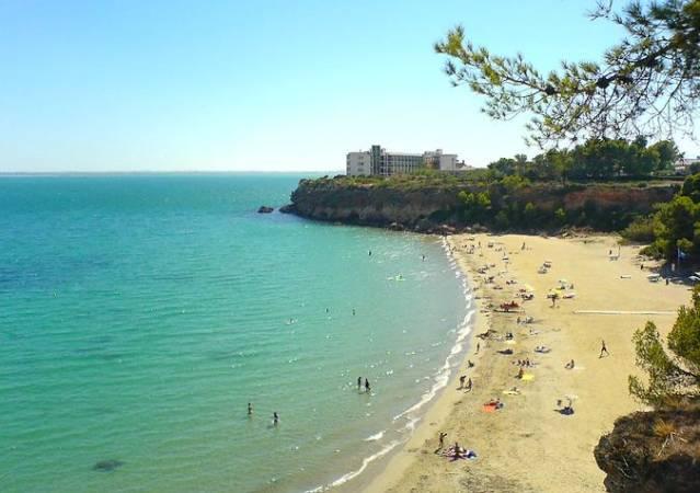Playa de Cap-Roig, en L' Ampolla, Tarragona