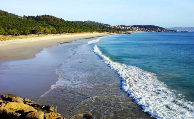 Playa de Barra, en Cangas de Morrazo, Pontevedra