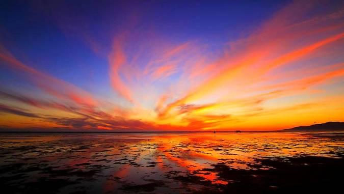 Las maravillosas puestas de sol de Cádiz
