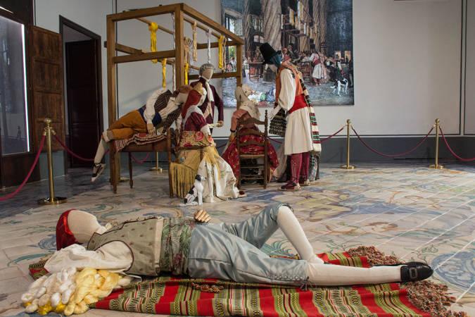 El Museo de la Seda recrea una escena inédita de la Lonja de Valencia