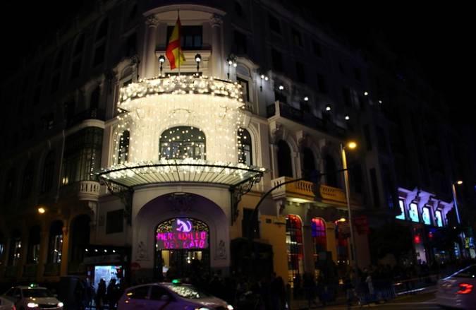 Mercadillo de Navidad del Gato, en Madrid
