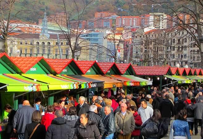 Mercadillo de Navidad de Bilbao