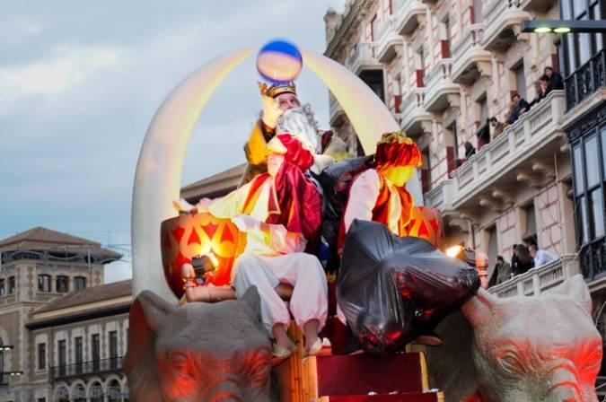 Cabalgata de los Reyes Magos en Granada