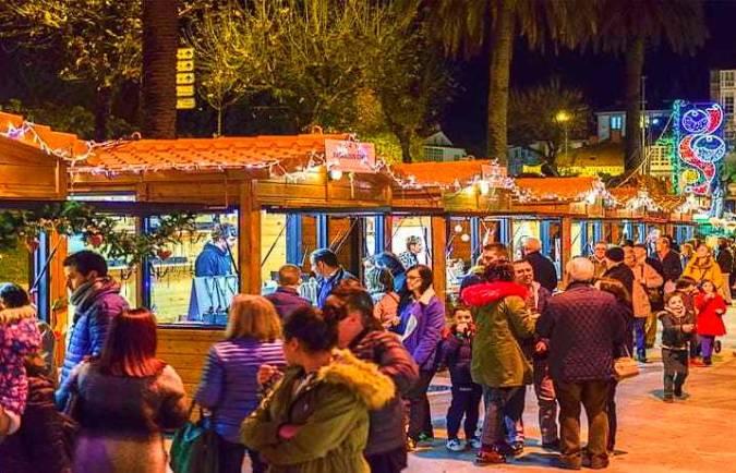 Mercado de Nadal de Santiago de Compostela