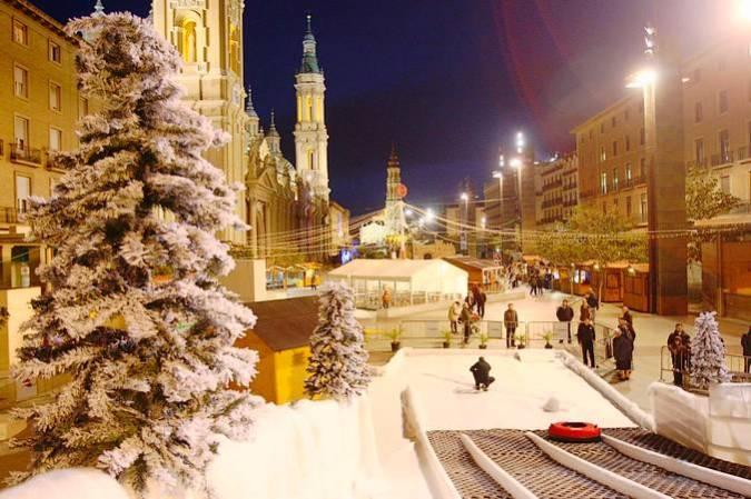 Mercados de Navidad en Zaragoza