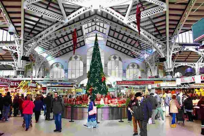 Mercado de Navidad del Mercado Central de Valencia