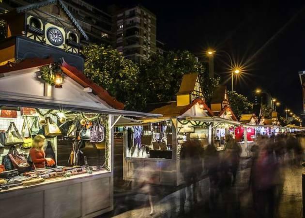 Mercados de Navidad en la ciudad de Sevilla