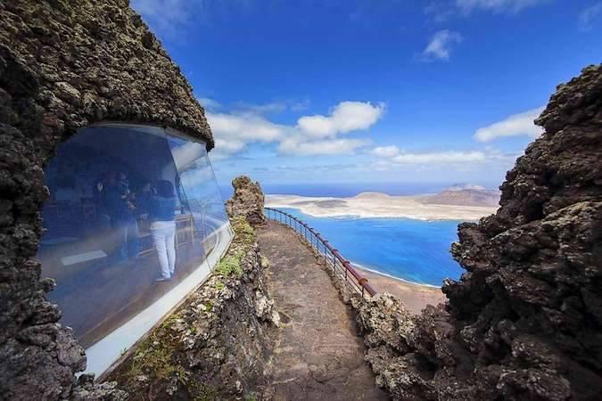 El Mirador del Río, en Lanzarote