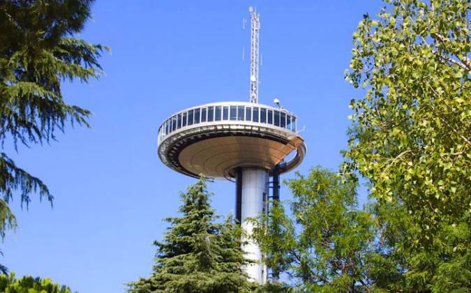 Mirador del Faro de Moncloa, en Madrid