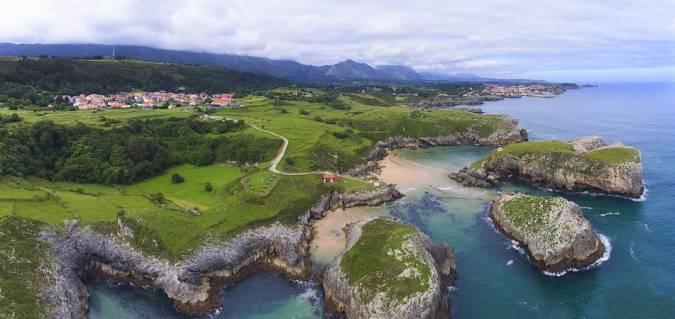 La villa de Llanes, en Asturias