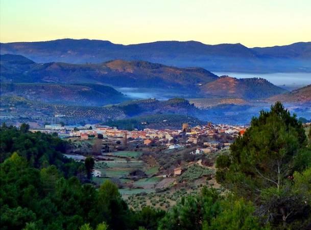 Vistas desde el Mirador del Portichuelo, en Siles, Jaén