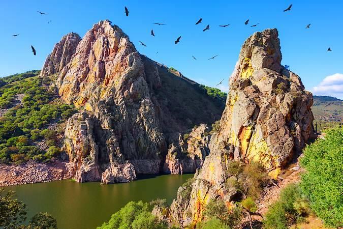 El Mirador del Salto del Gitano, en Cáceres