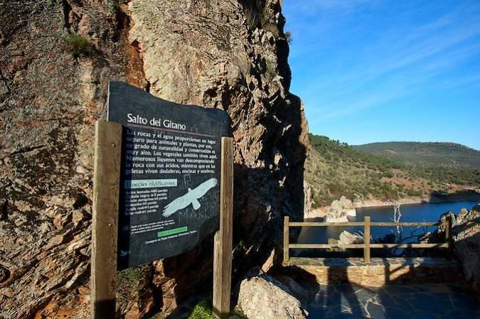 Mirador del Salto del Gitano, en el Parque Nacional de Monfragüe, en Cáceres