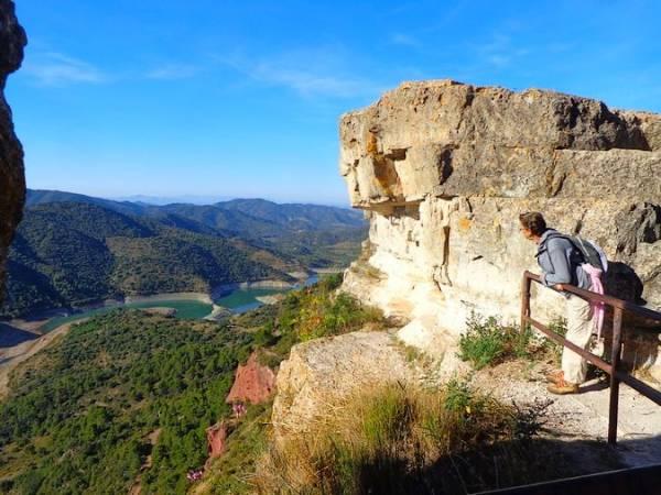 Mirador en Siurana, Tarragona