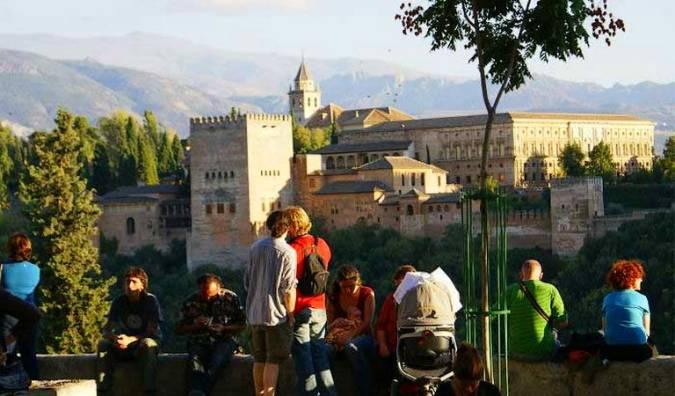 España vista desde un mirador