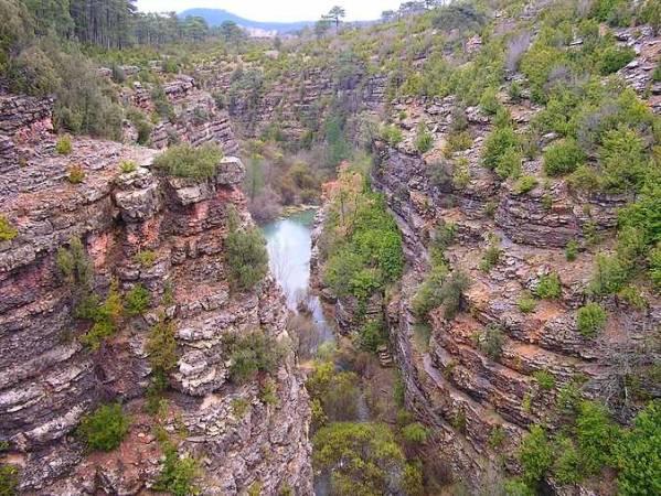 Los Miradores del Parque Natural de la Serranía de Cuenca