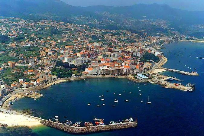 La villa costera de Moaña, en Pontevedra