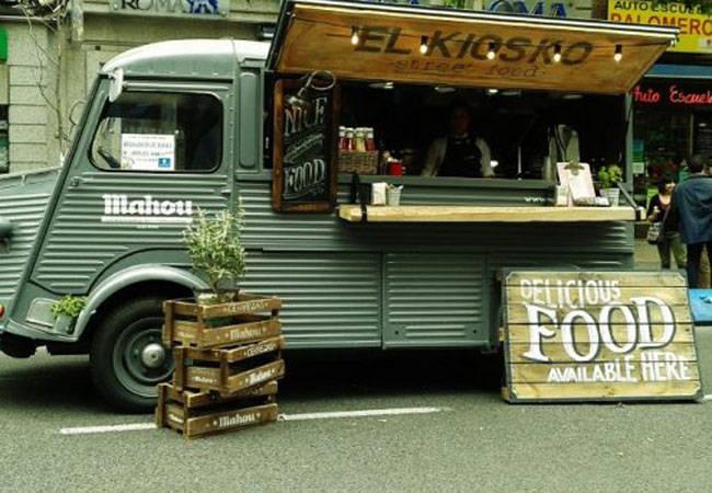 La moda del Food Truck