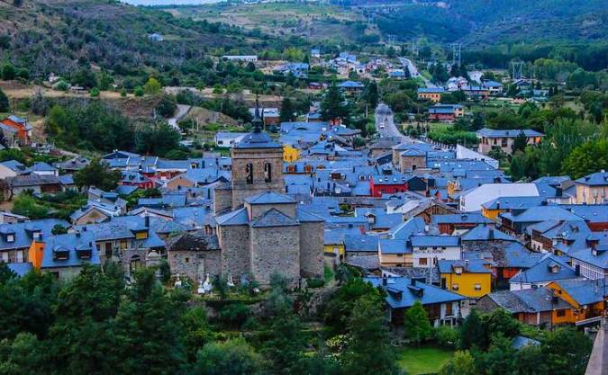 Molinaseca, en León