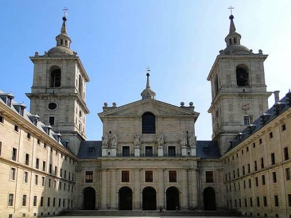 Basílica de el Monasterio de El Escorial, en Madrid