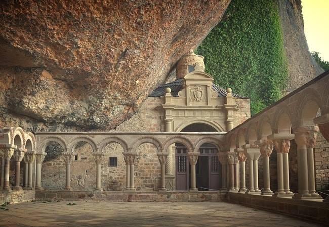 La historia del Monasterio de San Juan de la Peña