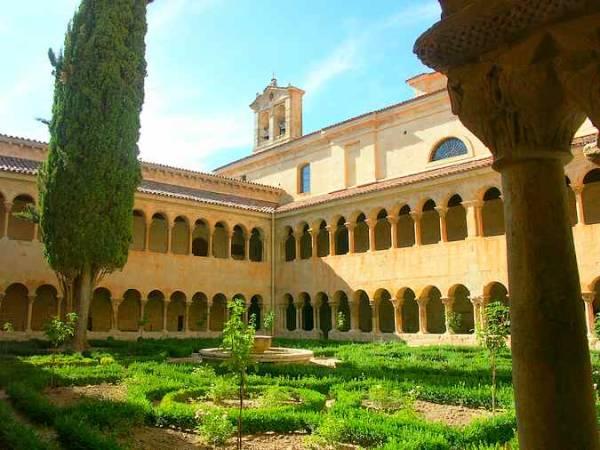El Monasterio de Santo Domingo de Silos, en la provincia de Burgos