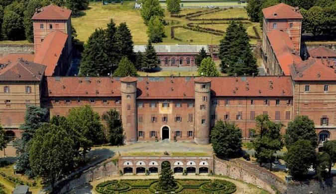 Castillo de Moncalieri, en Italia