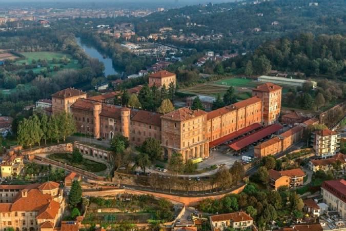 Panorámica de Moncalieri, en Italia