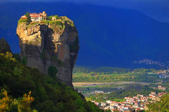 Monasterios Gran Meteoro, en Meteora, Grecia
